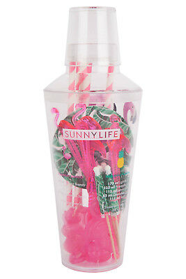 NEW Sunnylife Tropical Cocktail Party Kit | Drink Shaker Straws | ihartTOYS