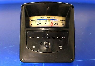 Barber Colman Wheelco Model 297 Temperature Control Unit
