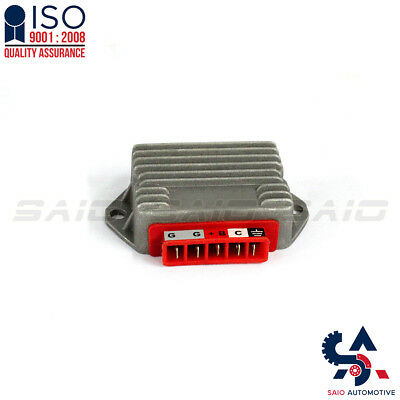 Vespa PX 125 200 LML T5 12 Volt 5 Pin 96 Watt Regulator - Saio | High Quality
