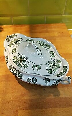 Antique Penrose Art Nouveau tureen Keeling and Co