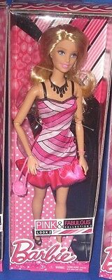 Barbie Collector Pink & Fabulous Collection 3 Look 2 Barbie Doll, New