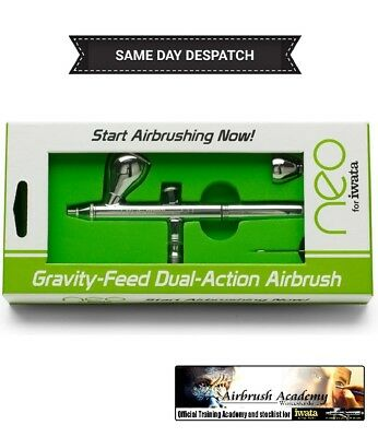 Neo for Iwata CN Gravity Feed Airbrush IW-NEO-CN - 5 year warranty, Paint, 0.35