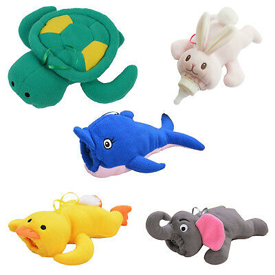 SS Baby Animal Holder Storage Bag Pouch Cover for Milk Bottle(Blue Dolphin)
