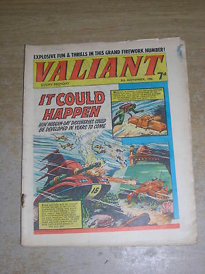 Valiant 5th November 1966 FIREWORKS edition Rare Great cover Dandy Beano Buster