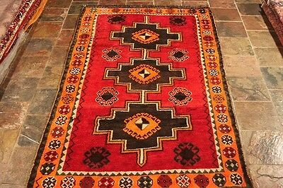 """""""Authentic Persian rugs"""" 237x132 100% wool, excellent quality LURI Persian rug"""