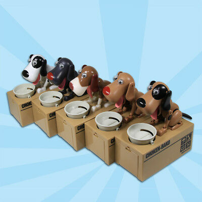 Choken Bako Robotic Dog Bank Doggy Coin Bank Money Box Doggy Bank Puppy Coin Box