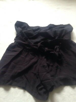 BNWT Ladies M&S Size 18, Black Over Bump Maternity Shorts