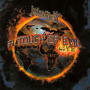 Judas Priest – A Touch Of Evil - Live CD NEW 2009