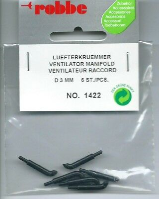 Ventilator Manifold Model Ship Or Boat Fitting Robbe 1422 Pack Of 6