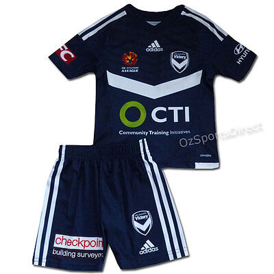 Melbourne Victory FC Kids Mini Kit Jersey and Shorts Set - 2/3 years