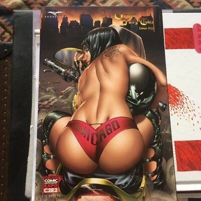 Grimm Fairy Tales #57 Zenescope Chicago C2E2 Lim  500 Nice Girl EBAS Cover NM