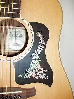 Acoustic Guitar Scratch Plate Pickguard self adhesive size shown.. # 1