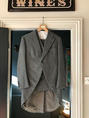 Vintage grey Morning suit, good condition Size 38-40