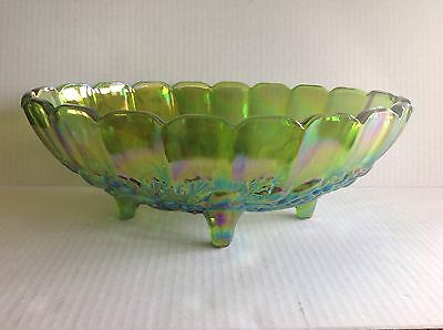 Indiana Harvest Carnival Lime Green Center Bowl