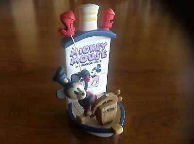 Mickey Mouse in Steamboat Willie limited edition Figurine