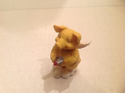 Ganz Pigsville Figurine Lovestruck 1994 New No Box