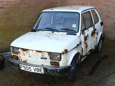 Fiat 126 Restoration Project  SOLD SOLD   Right Hand Drive