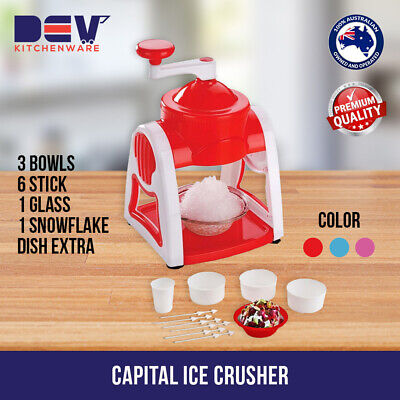 Capital Ice Crusher & Snow Cone Maker $27.99 @ Dev Kitchenware CK 150