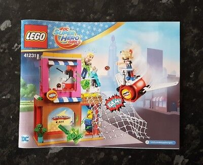 Lego DC Super Hero Girls Harley Quinn to the rescue 41231 Instruction Manual