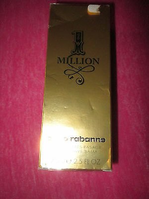 PACO RABANNE ONE MILLION BEAUME APRES RASAGE AFTER SHAVE 75ml