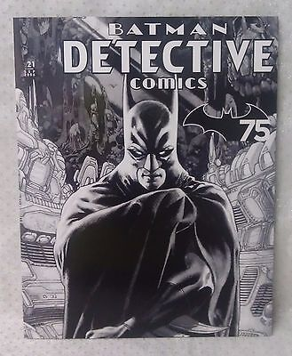 BATMAN DETECTIVE stamp set comic book style presentation 20 x 70c stamps MUH MNH