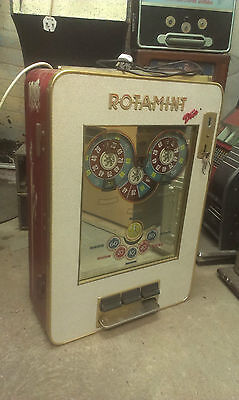 Nsm Rotamint Old Vintage Mechanical Wall Machine 1960 Complete See Descriptio