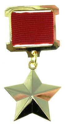 Star Hero of the USSR medal. Excellent copy
