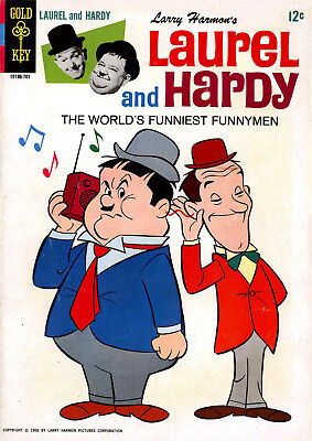 Laurel & Hardy and Abbot & Costello Comics on DVD - Classic Vintage Humour Comic