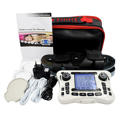 UNIT/Dual channel output TENS pain relief/Electrical nerve muscle stimulator