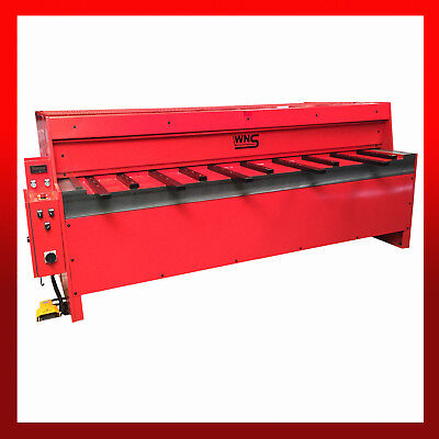 WNS Sheet Metal Power Guillotine / Shear 2550mm x 2.0mm Rear Guard Back Stop