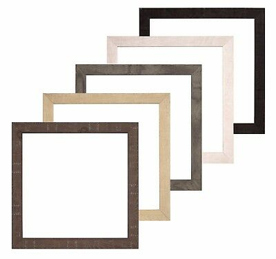 Shabby Chic DEEP Rustic Wood Grain Picture Frames Photo Frame Instagram Square