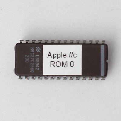 Apple //c IIc ROM 0 DIY Upgrade from ROM 255 EEPROM Chip