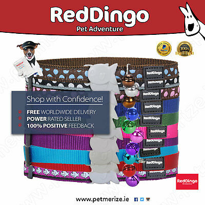 Red Dingo Safety Release Cat Collars