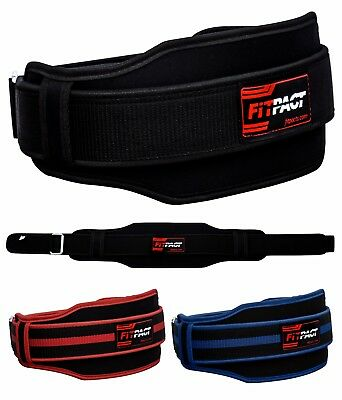 FITPACT Weight Lifting Belt Fitness Workout Training Gym Lumber Bodybuilding