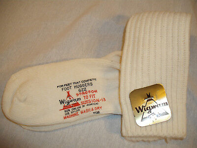 Lot of 10 Wigwam Socks 622 For Feet That Compete Foot Huggers 90% Orlon