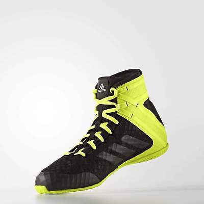 NEW Adidas Boxing Boots - SPEEDEX 16.1 BLACK/YELLOW Boxing Shoes Boot NEW DESIGN