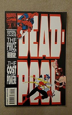 Deadpool The Circle Chase #2 Joe Madureira 1993 Marvel Comics