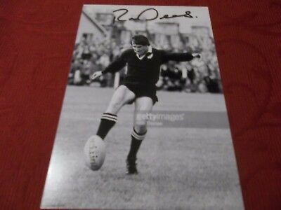 Robert Deans, New Zealand Rugby Player, Signed 6 X 4 Photo