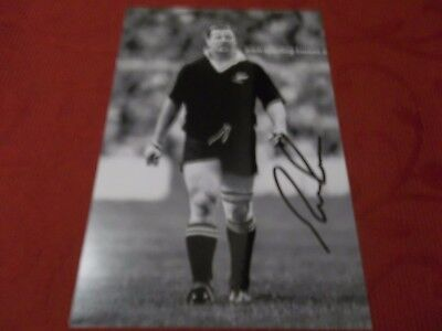 Richard Loe, New Zealand Rugby Player, Signed 6 X 4 Photo