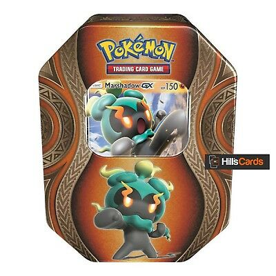 Pokemon Marshadow GX Fall / Autumn 2017 Collectors Tin: Booster Packs Promo Card