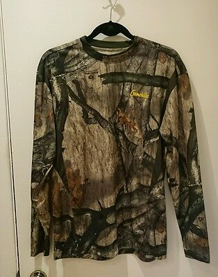 Gamehide Mossy Oak Treestand Hunting Top Size Medium