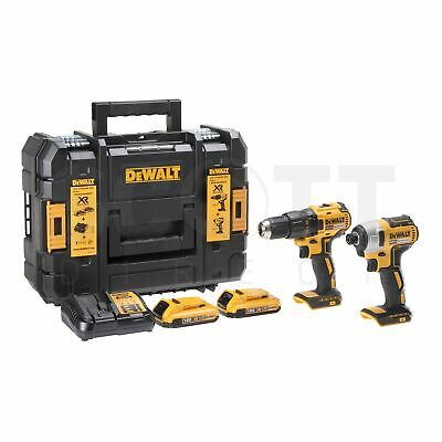 Dewalt DCK2059D2T 18V Li-ion XR Cordless Brushless Twin Kit 2 x DCB183 + DT7915