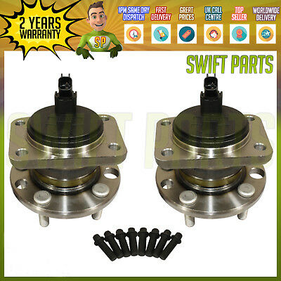 REAR WHEEL BEARING + HUBS PAIR (2x) FOR FORD MONDEO MK3 2000-2007 INC STUDS
