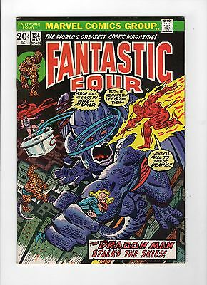 Fantastic Four #134 (May 1973, Marvel) - Fine