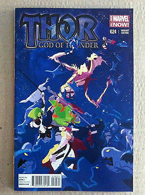 Thor God Of Thunder #24 Guardians Of The Galaxy 1:15 Variant Cover Vf/nm 1St Ptg