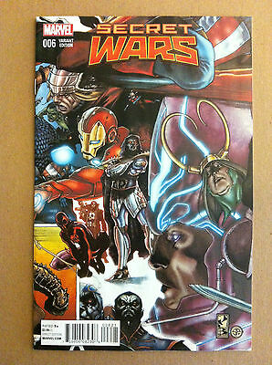 Secret Wars (2015) #6 Simone Bianchi 1:20 Connecting Variant Cover Nm Near Mint