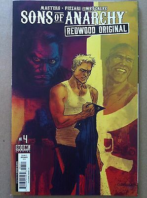 Sons Of Anarchy Redwood Original #4 Regular Brunner Cover Soa Nm 1St Printing