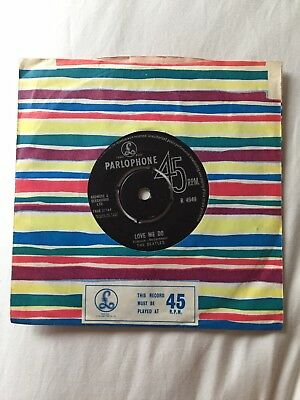 Beatles Single... original Black label LOVE ME DO