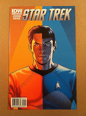 STAR TREK IDW ONGOING #1 B 1:5 VARIANT COVER by DAVID MESSINA VF 1ST PRINTING 1B