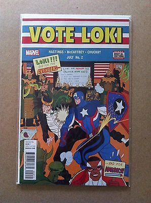 Vote Loki #2 Regular Tradd Moore Cover Nm 1St Printing Thor Election President
